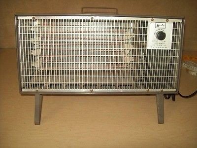 Vintage~Portable~Electric~Heater~Arvin~1320 Watts~Automatic Thermostat