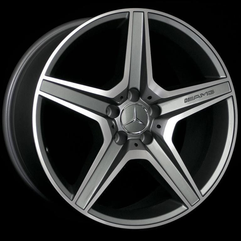 AMG STYLE STAGGERED WHEELS 5X112 RIM FITS MERCEDES BENZ C300 2008 UP