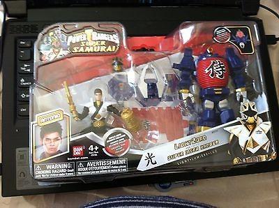 2012 NEW Power Rangers Samurai LIGHTZORD LIGHT zord Gold Ranger SEALED