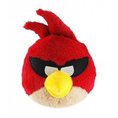 OFFICIAL HUGE ANGRY BIRDS SPACE PLUSH 16 RED BIRD W/SOUND