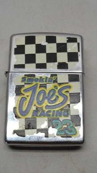 Vintage Zippo Lighter Smokin Joes Racing 23 Working C XIII
