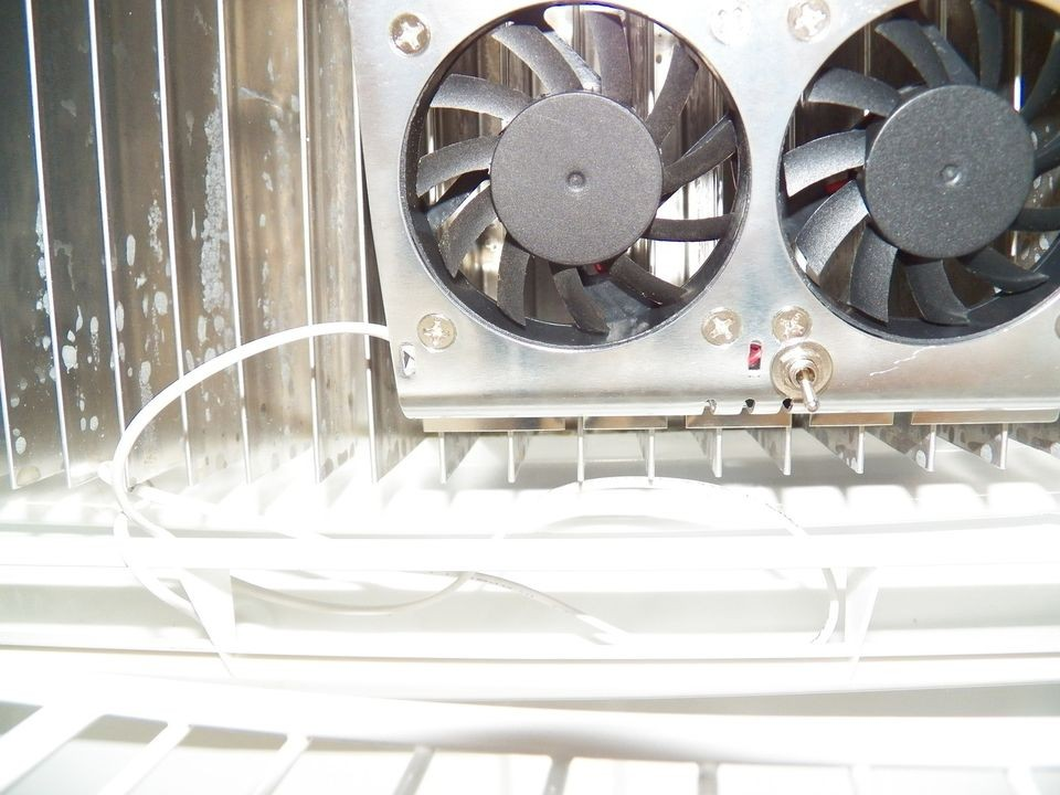 Dometic Refrigerator Fan w/ON OFF switch to INCREASE cooling