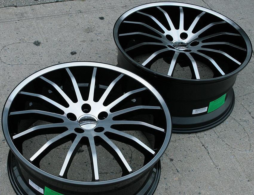 MARTUNI 20 BLACK RIMS WHEELS BMW X5 E53 E70 / 20 X 8.5/10 5H +35