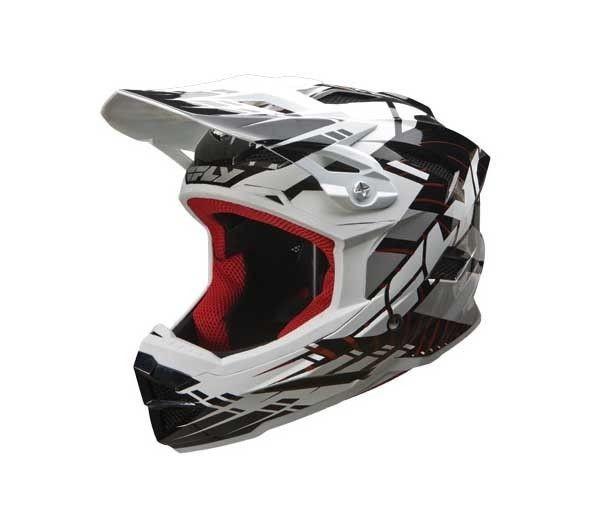 Fly Default Full Face BMX / DH Helmet sz Adult M Black
