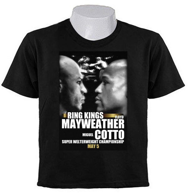 MIGUEL COTTO vs FLOYD MAYWEATHER BOXING 2012 Welterweight Champion T