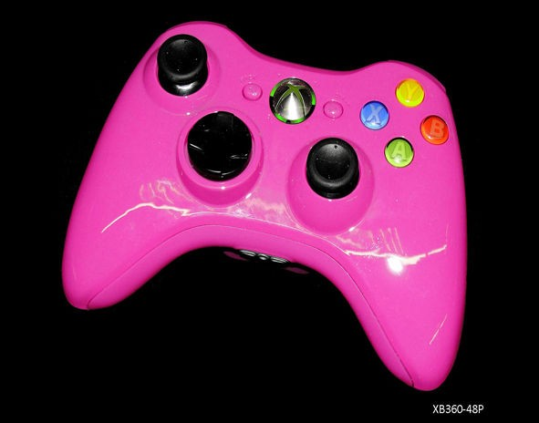 Xbox 360 Pink Chinazo 70 Mode Prog Rapid Fire Controller for Gears Of