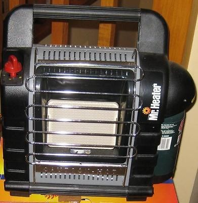 Mr. Heater Portable Buddy MH9B Indoor Safe Propane Heater Lightly Used