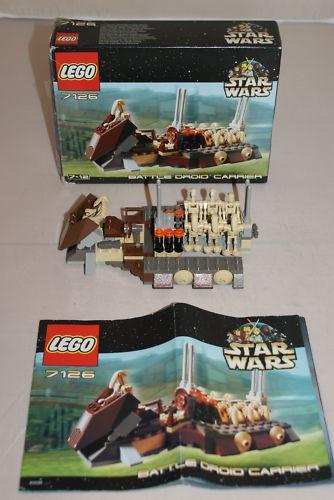 lego star wars droid carrier in Star Wars