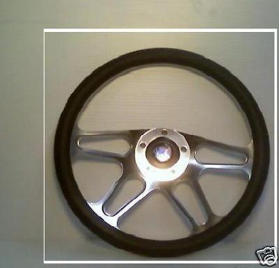 BILLET Steering Wheel Golf Cart,Hot Rod,Chevy,Ford NIB
