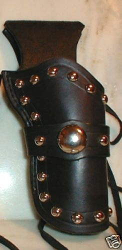 Western Cowboy Hollywood Holster SASS Fast Draw 4 3/4 CHRISTMAS SALE