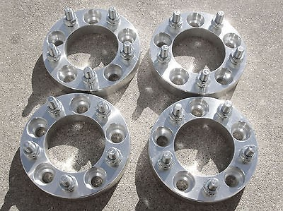 pcs  1  5x4.5 to 5x5  1/2 x 20 Studs  Wheel Spacers  Adapters