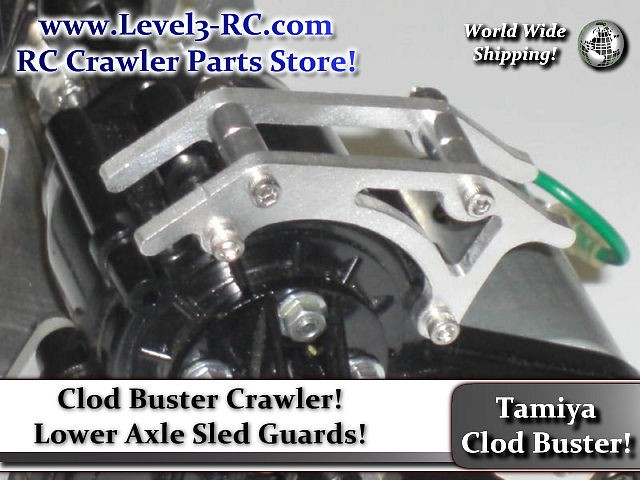 AXLE SLED GUARD ** TAMIYA CLOD BUSTER ** RC ROCK CRAWLER