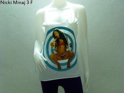 Nicki Minaj Woman Tank Top Shirt Dress Rock Punk Indie Rapper Hiphop