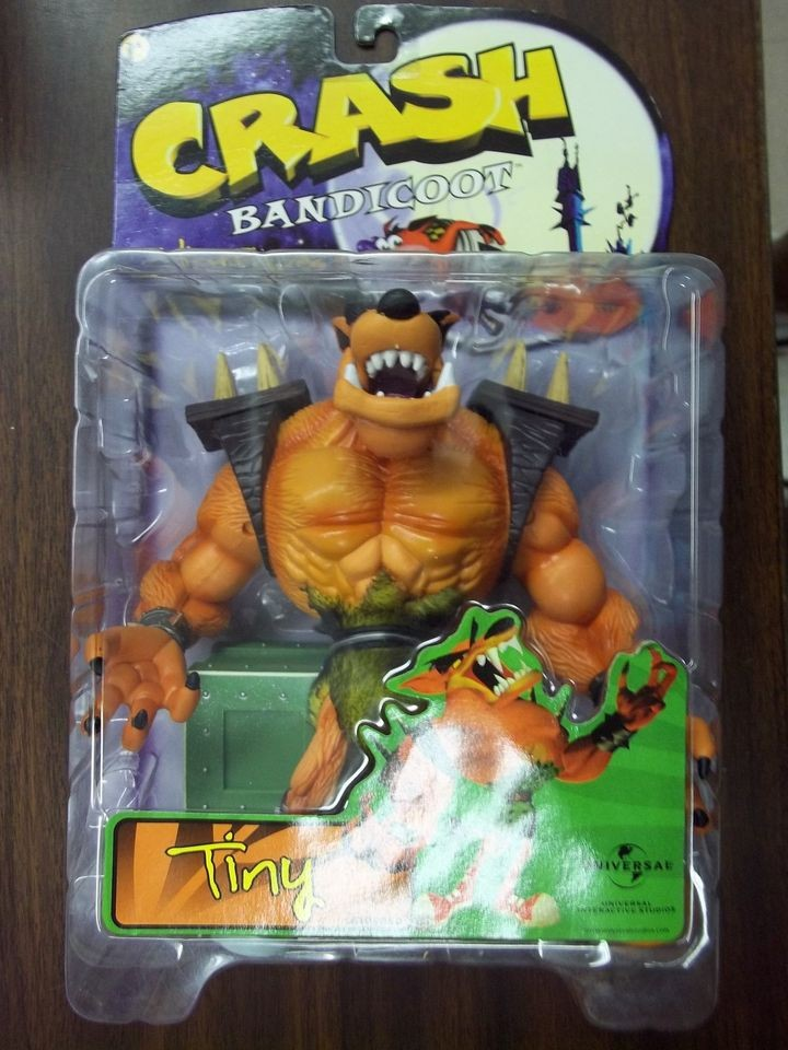 Crash Game Toy : Crash bandicoot toys in tv movie video games