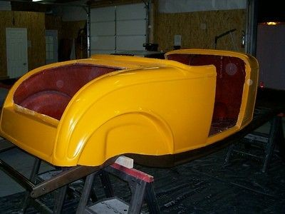 1932 32 Ford roadster fiberglass body hot rat street rod