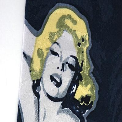Marilyn Monroe Novelty Navy Blue Mens Neck Tie