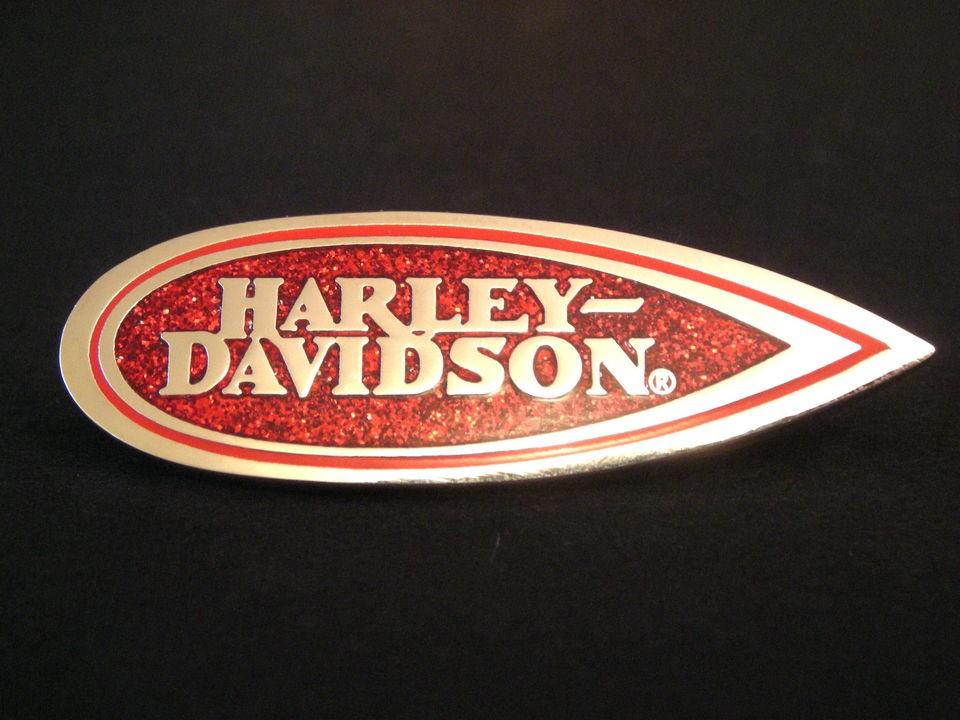 HARLEY DAVIDSON MUSEUM HERITAGE SPRINGER TANK BADGE PIN   NEW