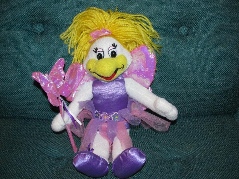 10 Chuck E Cheese Girl Fairy PLush DOll Helen Pink Soft Toy Stuffed