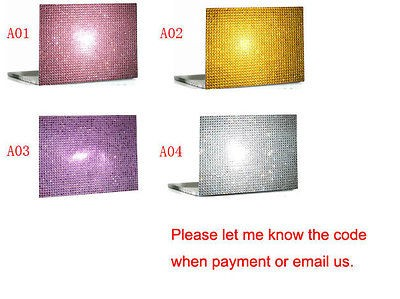 Bling Crystal Laptop Cover Skin Stickers hp Dell Acer