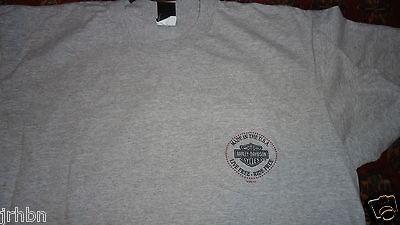 preowned Atlantic County City NJ Harley Davidson t shirt XXL 2XL MADE