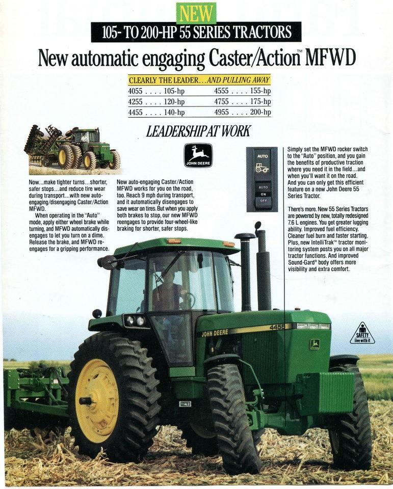 John Deere Tractor Ad : John deere farm tractor ad