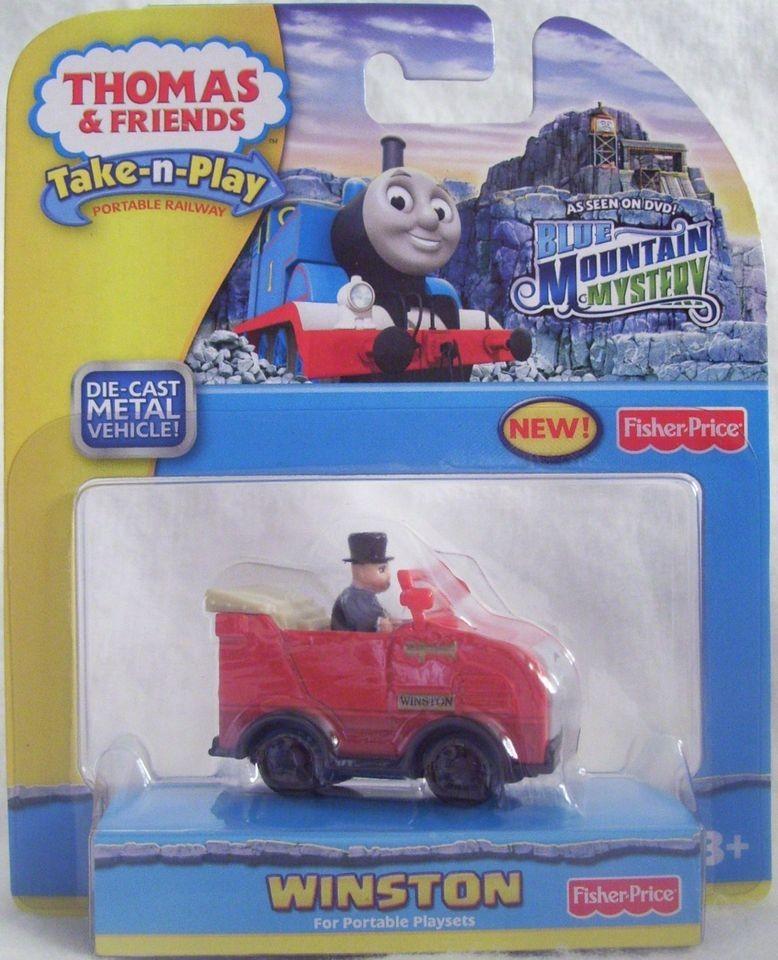 Thomas & Friends ~ Take N Play ~ Winston Blue Mountain Mystery