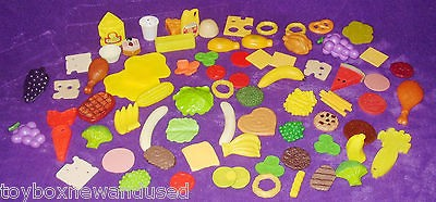 Fisher Price Fun Food Pretend Play Large Preschool Lot 73 Pieces