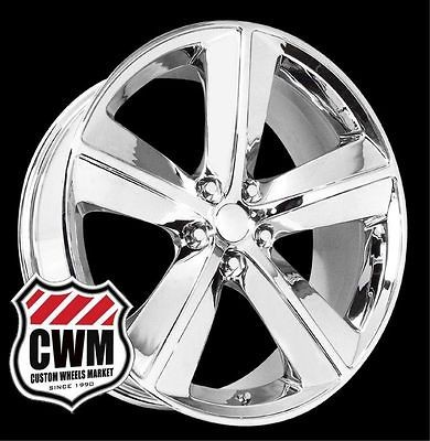 20x9 Dodge Challenger SRT8 Style Chrome Wheels Rims for Dodge