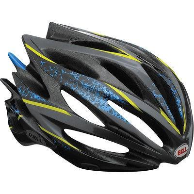 2013 Bell Sweep Road CX Bike cycling Crash Helmet blue sparker