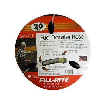tuthill fill rite frh07520 fuel transfer hose 20 x 3