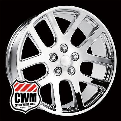 22x10 Dodge Ram SRT10 Replica Chrome Wheels Rims for Dodge Ram 1500