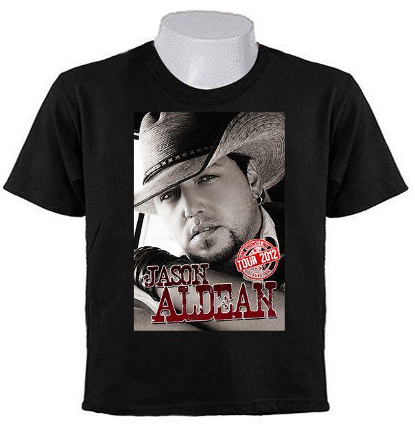 Jason Aldean Tour 2012 Concert T Shirts Country Music No Tour Dates