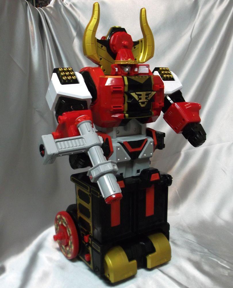 Power Rangers Samurai Sentai Shinkenger Mougyudaioh Bull Megazord