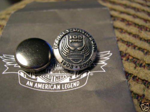 105th Anniversary Harley Davidson Vest Snap Repair Kit