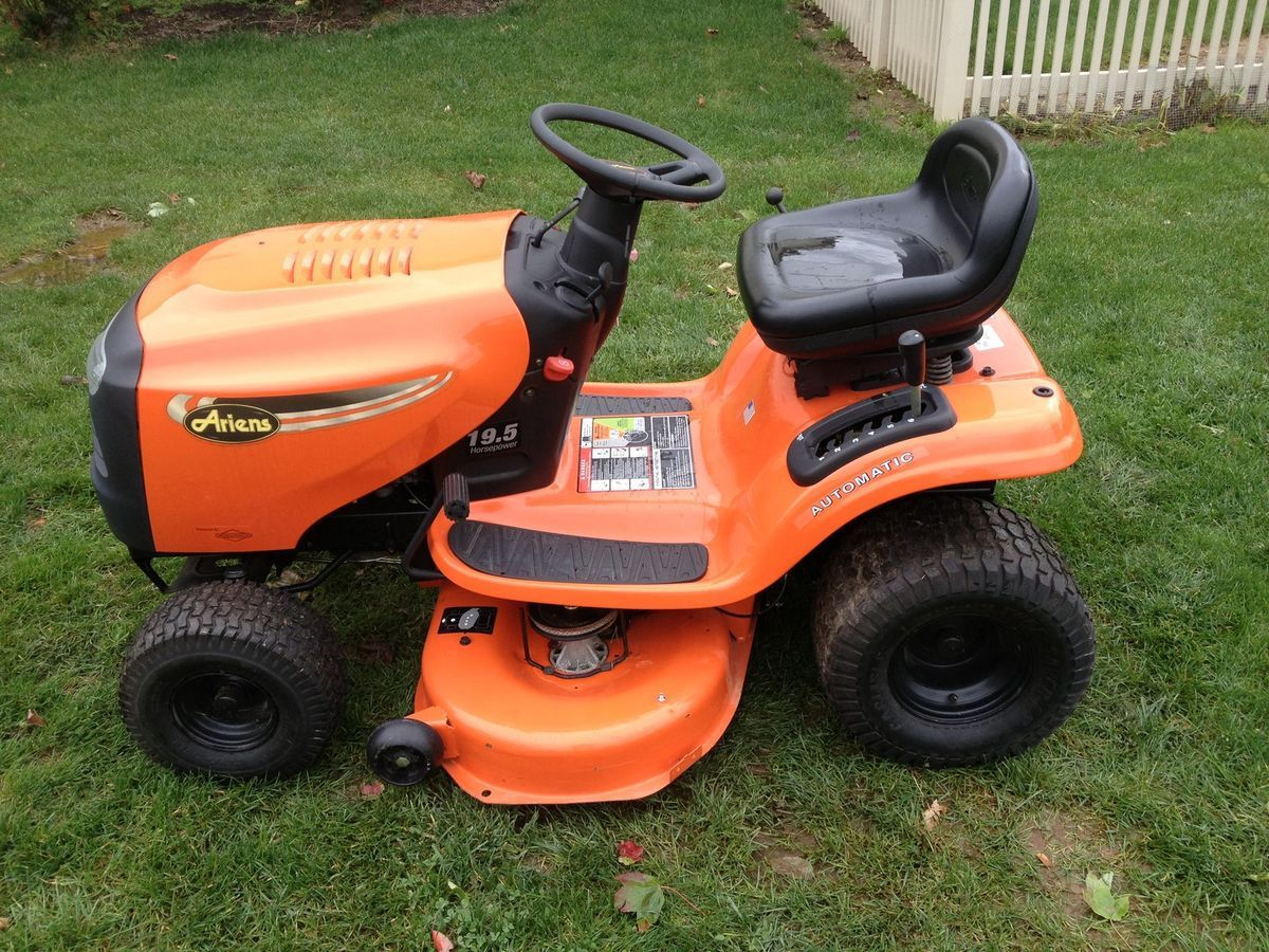 Ariens Lawn Tractor Attachments : Ariens lawn tractor mower pictures to pin on pinterest