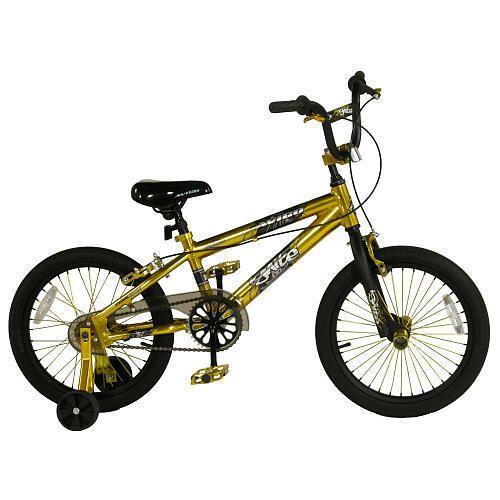 Avigo 18 inch Ignite Gold BMX Bike Boys