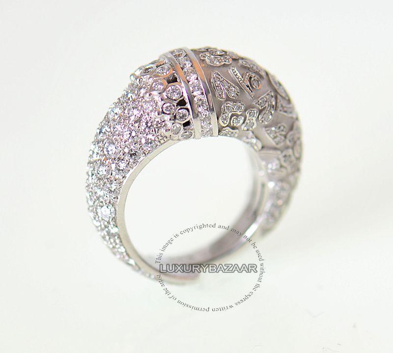 Carrera Y Carrera 18K White Gold Diamond Ava Ring