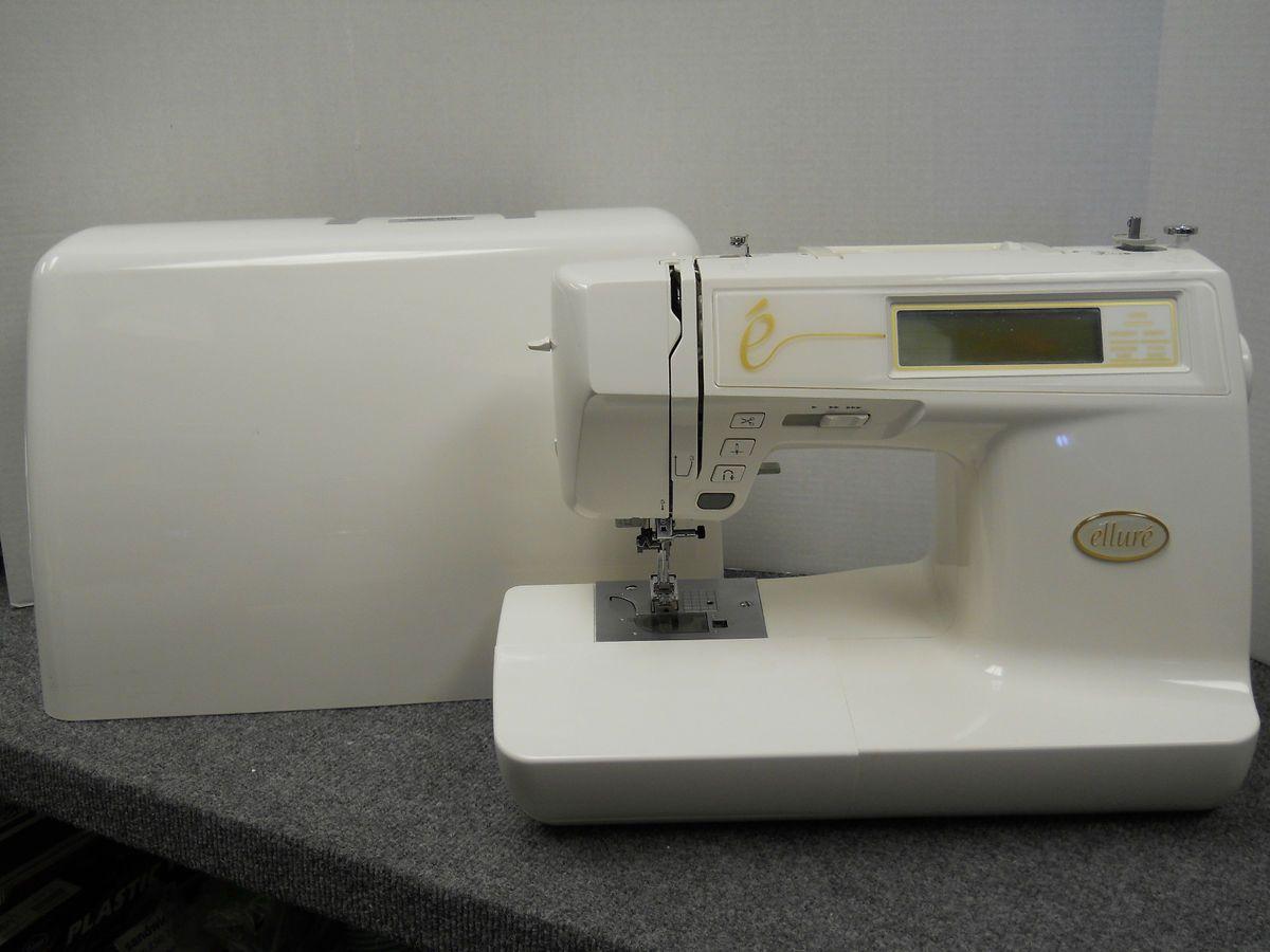 ellure plus embroidery machine