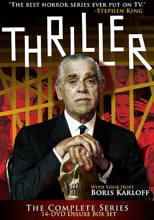 Thriller The Complete Series DVD, 2010, 14 Disc Set