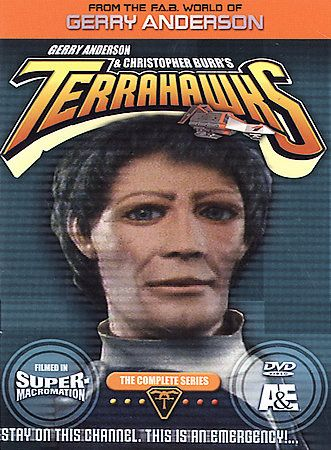 Terrahawks   The Complete Series DVD, 2004, 5 Disc Set
