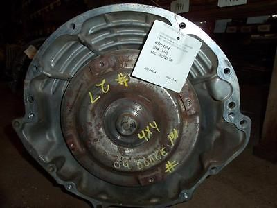 04 DODGE DAKOTA AUTOMATIC TRANSMISSION 4X4 4.7L 45RFE (Fits Dodge Ram