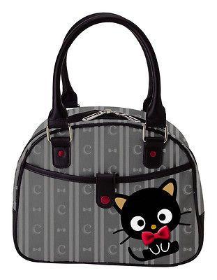 new sanrio hello kitty chococat hand bag purse bowtie one