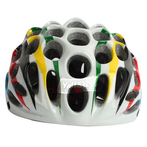 New 41 Holes Bicycle Bike Cycle Honeycomb Helmet Colorful