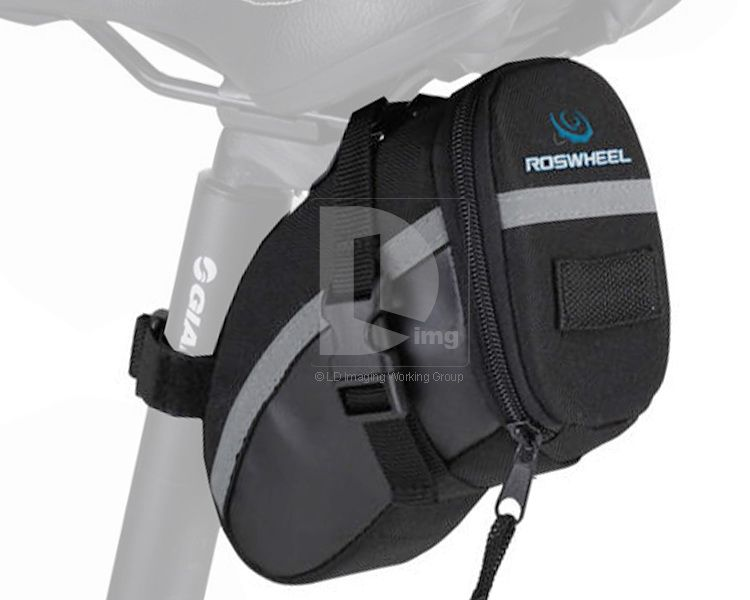 New 2012 Black Bicycle Bike Cycling Under Seat Saddle Bag Pouch