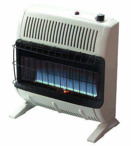 Mr Heater 30 000 BTU Propane Blue Flame Vent Space Heater Winter Room