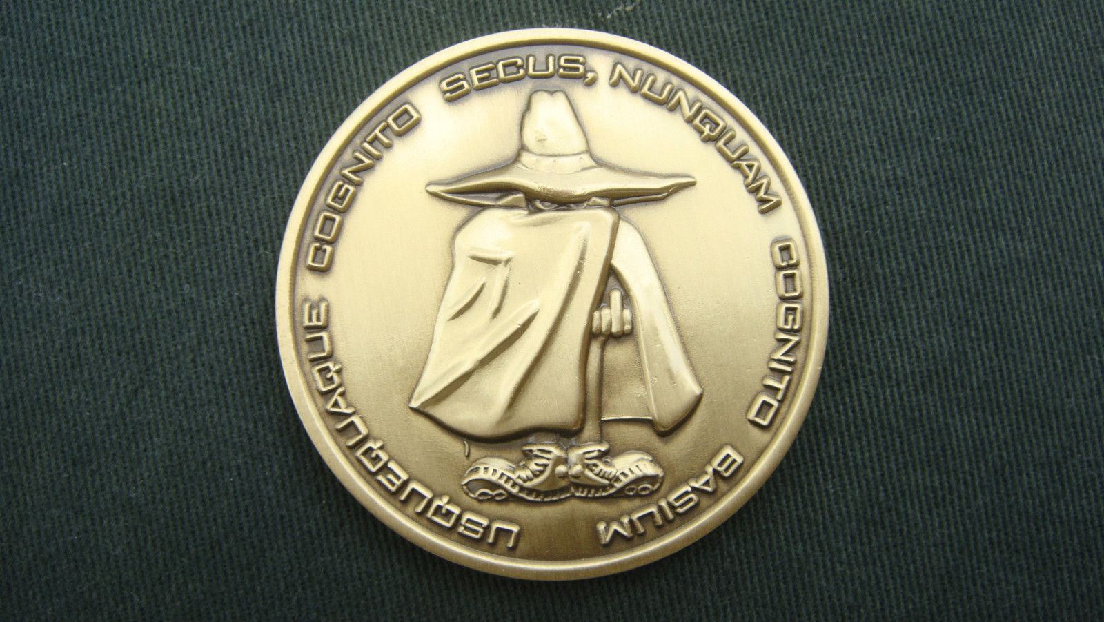 CIA ISSUE PROTECTIVE INTELLIGENCE OPERATIONS/SPEC OPS CHALLENGE COIN
