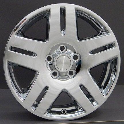 17 rim fits chevy impala wheels chrome 17x6 5 set