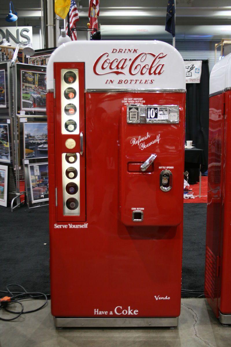 Coca Cola Vendo 81 D Restored Soda Machine Coke Pepsi