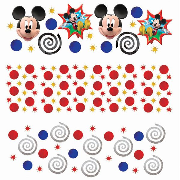 Disney Mickey Mouse Clubhouse Birthday Party Confetti