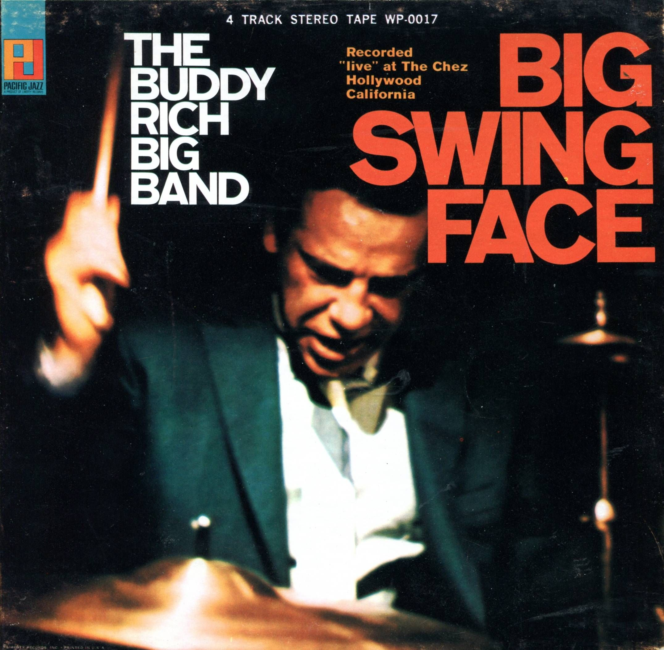 Buddy Rich Big Swing Face Pacific Jazz Stereo 7 1 2 IPS Reel to Reel